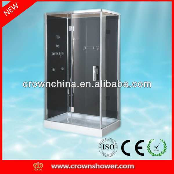massage room shower cubicle shower stall shower box with High quality aluminum frame bathroom door