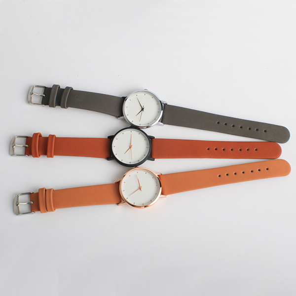 Chinese Factory OEM Cheap Price Leather Strap Water Resistant Alloy Case Fashion Watches Ladies
