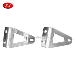 America Client OEM Nickel Plating Spring Steel Metal Clips LED Brackets ROHS Compliant