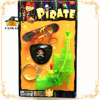 Pirate party supplies water gun+eye patch+earrings for Kids