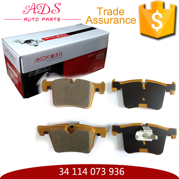 34 114 073 936 Auto brake pad China S Famous Brands Disc brake pads for F25 2010- front