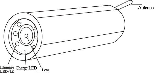 2 4g wireless nascosta tubo macchina fotografica di - Camino portatile ...