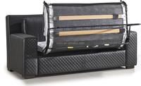 Commercial Twin Sofa Sleeper Three Folding Mechanism