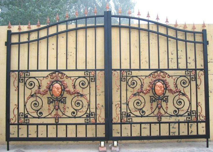 Beautiful House Main Iron Gate Designs,House Steel Gate Design   Buy Cast Iron  Gate Design,Steel Gate Design,House Steel Gate Design Product On Alibaba.com