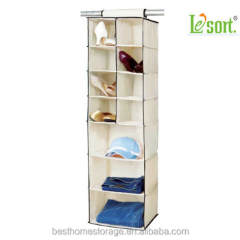 2016 New Style Kids Hanging Shoe Clothes Organizer Closet Storage For