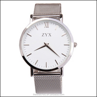 High quality all stainless steel watch for men,slim watch