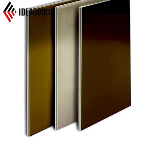 EN13501 A2 B1 grade fireproof 4mm acp sheets for curtain wall
