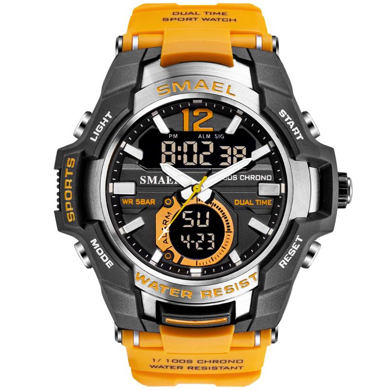 Smael factory  SL1805 multifunction  led  military waterproof  sport  digital  watch