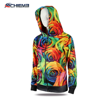 Custom Men's Wool Print Blank Sports Hoodies
