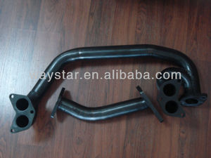 RB20 RB25 Mild steel downpipe for Nissan RB25DET exhaust downpipe