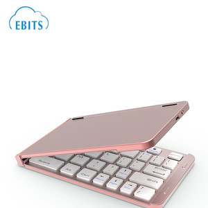 mini Universal bluetooth folding wireless Keyboard for tablet PC Smart phone