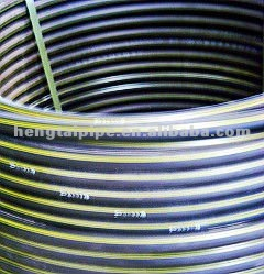 HDPE material natural gas flexible hose pipe