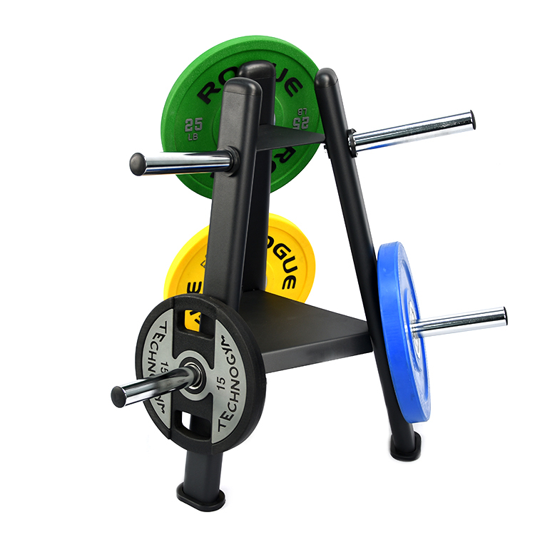 Gym Fitness Weight Plate Rack Tree