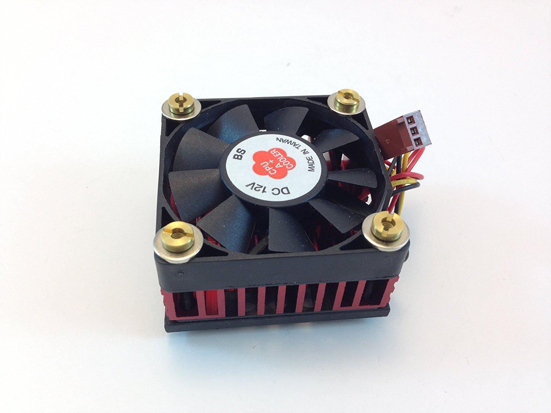 AAVID CPU COOLING FAN W/HEATSINK, 50mm Sq. FAN, 50mm X 50mm X 30mm Heatsink & Fan, TX3 3PIN CONNECTOR