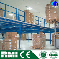 Warehouse Racking System Mezzanine Platform with Steel Stair