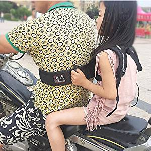 Adjustable children carrier child motorcycle belt firm electric motorcycle safety durable baby carrier harness for travel