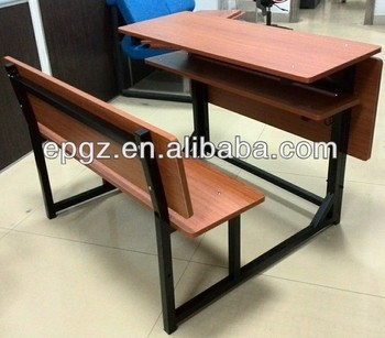 elementary school wooden student desk and chair ergonomic student
