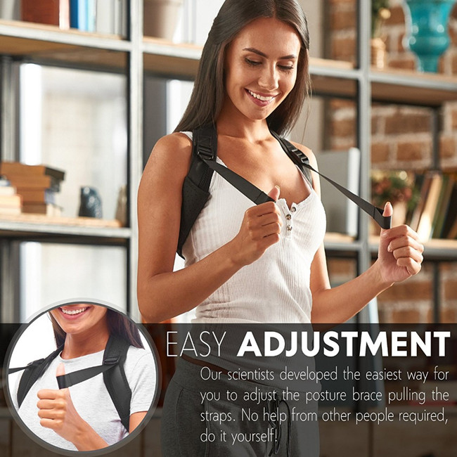 Upper Back Brace Posture Corrector and Clavicle Support Brace