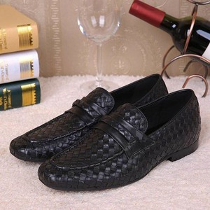 wholesale top quality designer woven hand made cowhide genuine leather men dress shoes