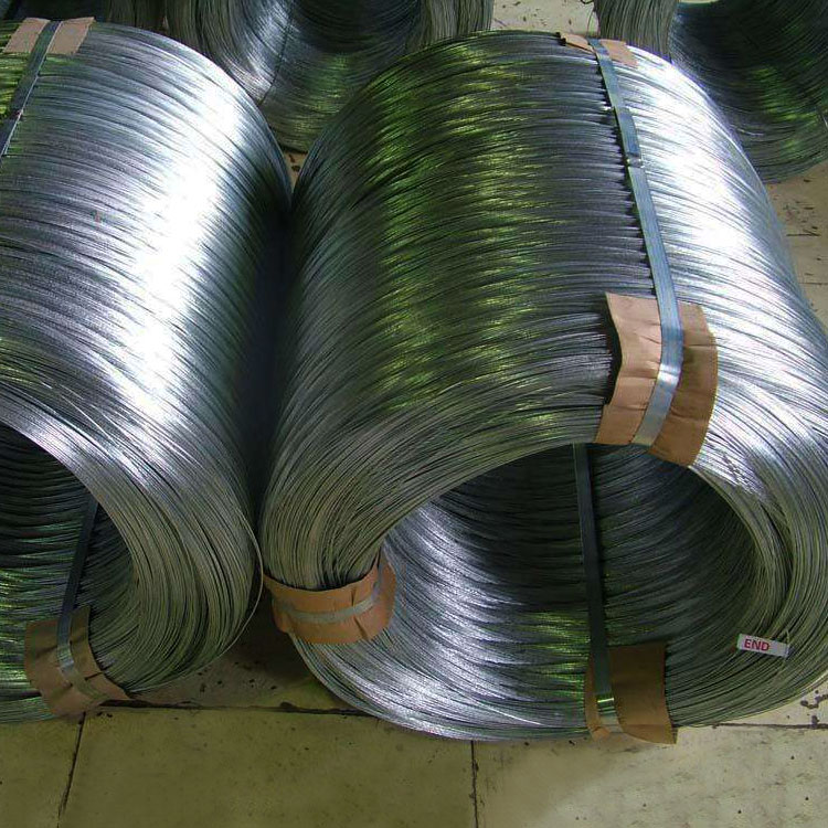 Hot rolled cold heading steel wire rod in coils galvanized steel rod