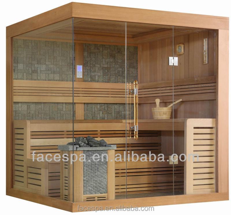 sauna sala de vapor seco con transome windows para personas que fabrican en foshan