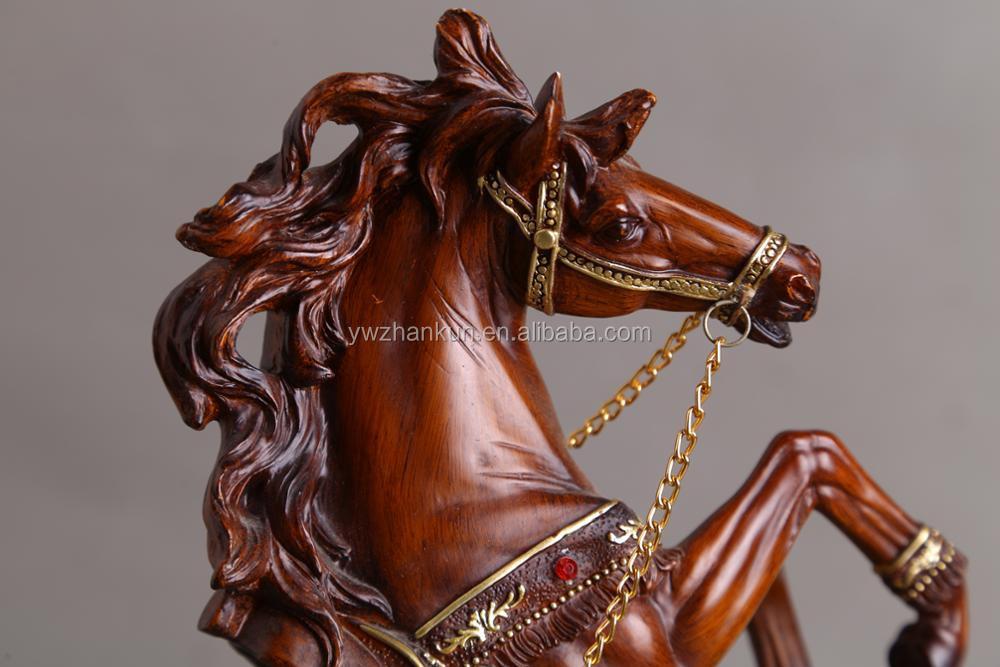Custom Harz Pferd Statue Figuren