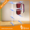 JP-CR300WP3 Metal Outdoor Three Layer Folding Mobile Clothes rack