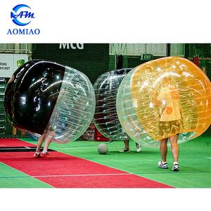New design crazy sport giant adults clear inflatable human bubble bumper knocker ball boy suit