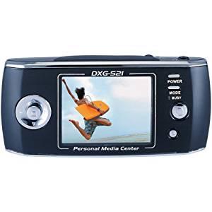 DXG USA DXG-521B Roadster Digital Media Player & 5 Megapixel Digital Camera
