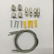 Stainless steel wire rope with connector for Led lights