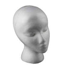 NO.3 Styrofoam Mannequin Head For making wigs