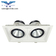 CE and Rohs approval rotatable recessed 24W COB square buy led downlight china