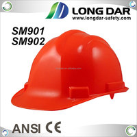 High Density industrial ABS shell Hard Hat with ANSI construction American safety helmet