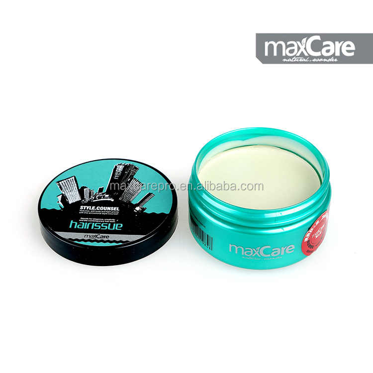 Long-lasting kmes hair wax with small quantity
