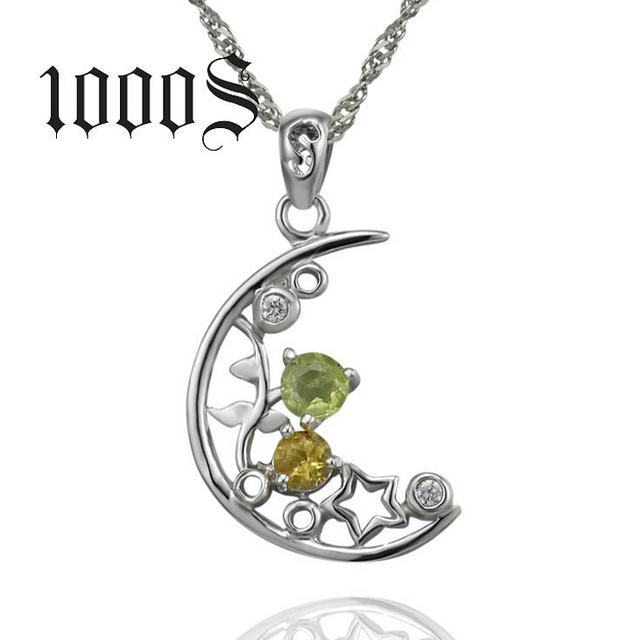 China sterling silver semi precious pendants wholesale alibaba 925 sterling silver moon pendant semi precious gemstone pendant aloadofball Gallery