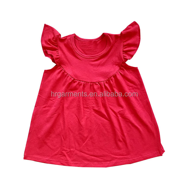 Wholesale Kids Frocks Design Baby Girl Pearl Cotton Dresses Fashion Tunic Dress For Little Girl
