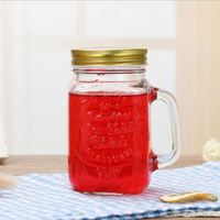 8OZ wide mouth clear cheap empty glass ball mason jars glass ball canning jars