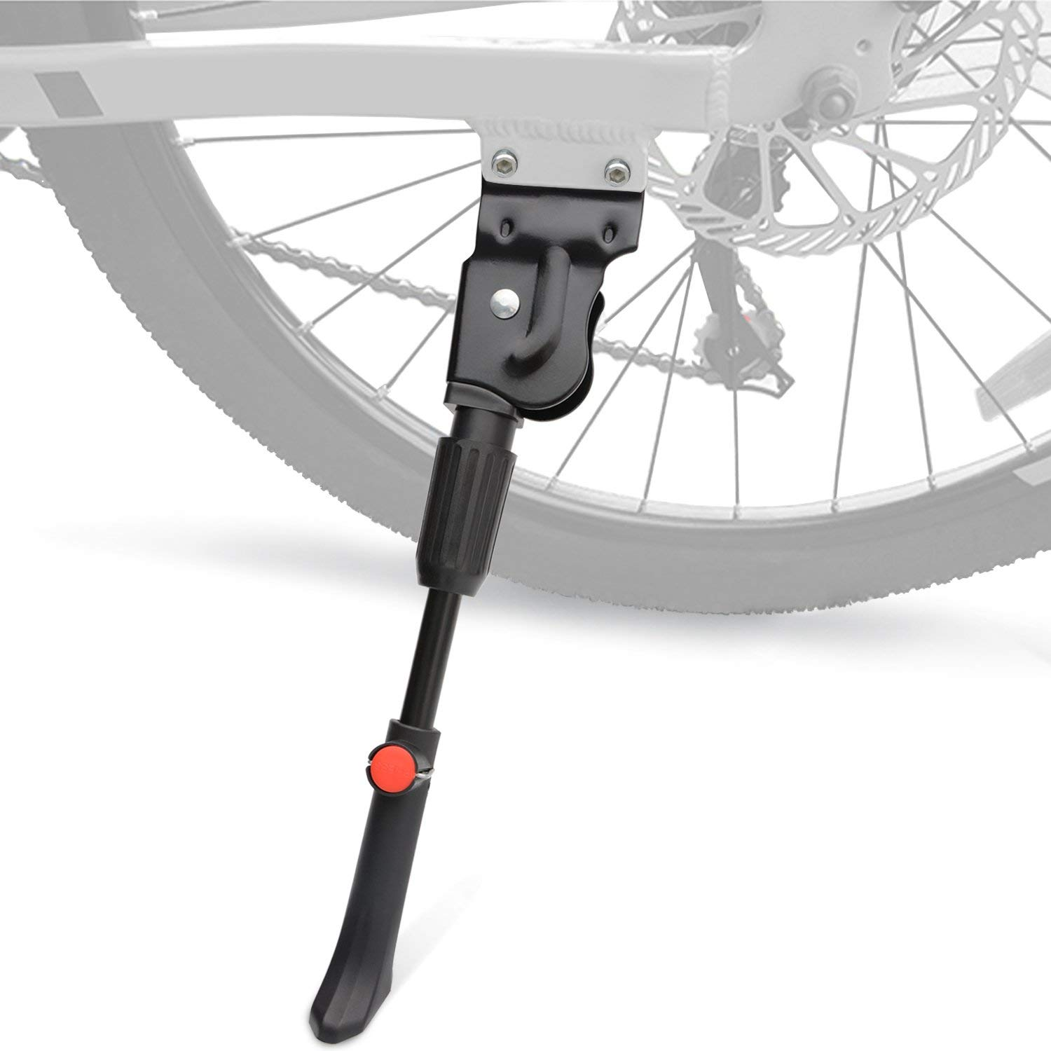 Cycling Sporting Goods BMX Junior Adjustable Alloy Kickstand in SILVER
