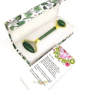Factory price Jade roller facial massage stone for the female face