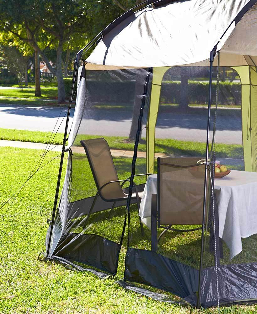 awning canopy shade garden folding gazebo ft x waterproof tent itm portable outdoor