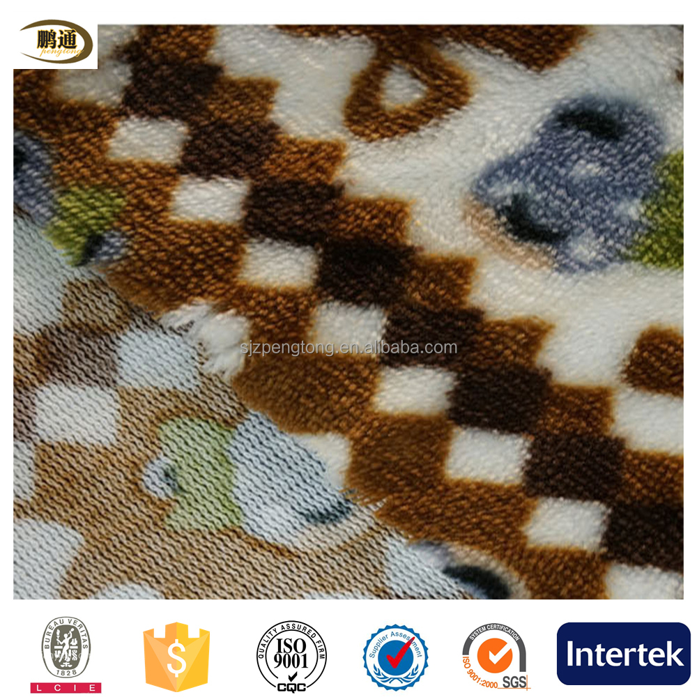 Anti-Static snake/digital/galaxy printed warp flannel fabric/fabrics