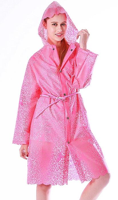 2015 мода плащи длинные кружева тпу прозрачные плащ женщин капа де chuva, Пальто дождя пончо Chubasquero Mujer