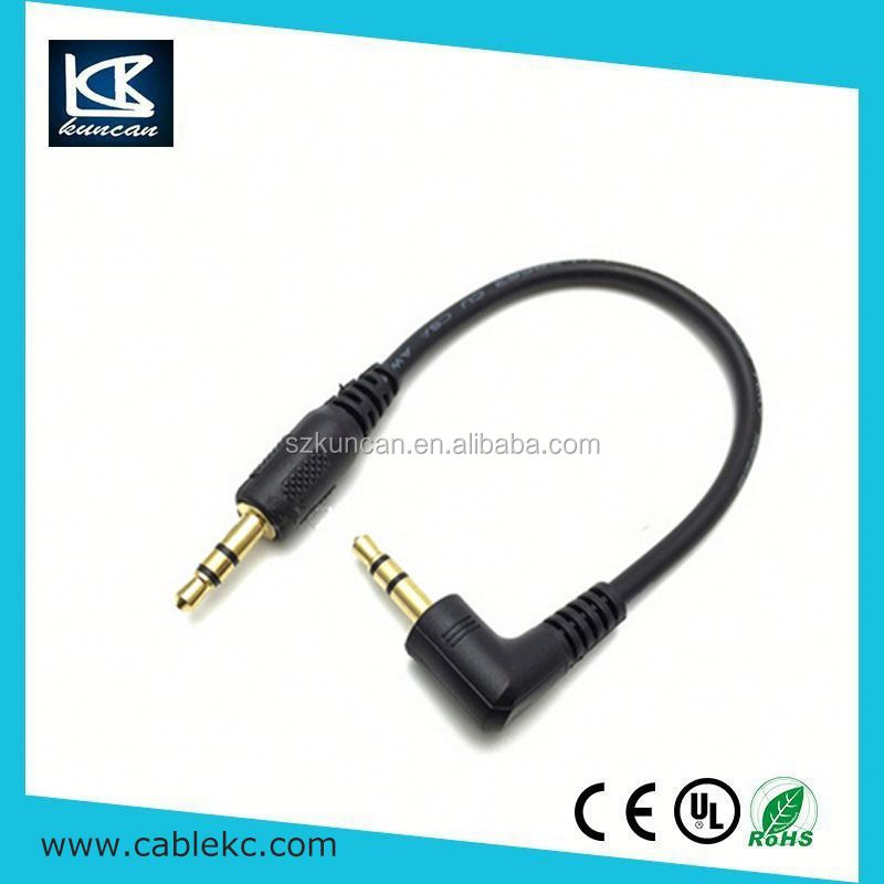 SZKUNCAN 2016 Hot Selling 3.5mm Stereo to 3.5mm av cable for smartphone