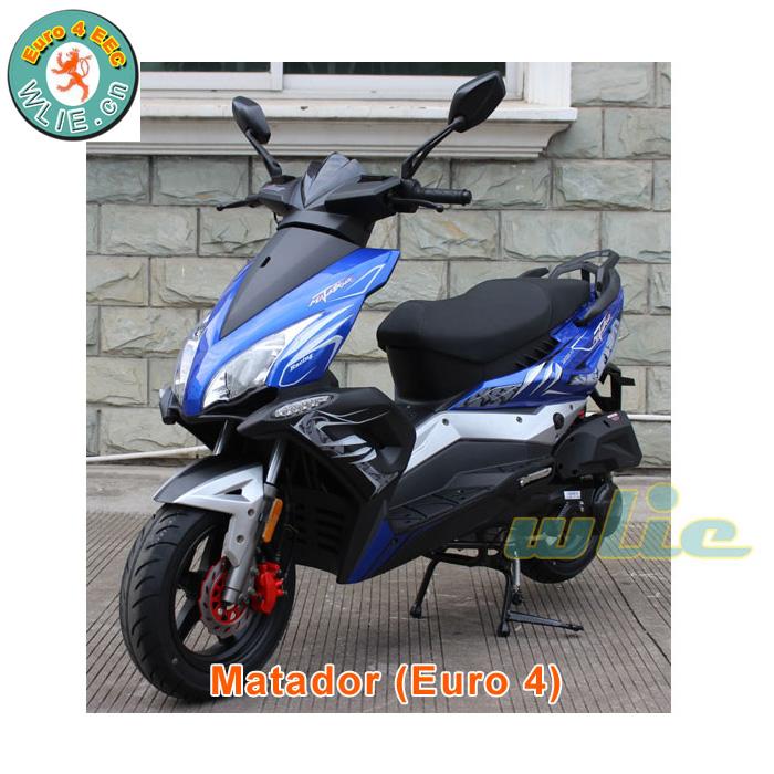 Nhà máy Cung Cấp 50 cc xe máy gas scooter 49cc cổ điển Euro 4 EEC hệ thống EFI Matador 50cc, 125cc