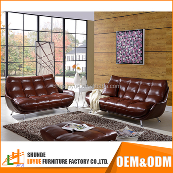Low Price Sectional Sofa Furniture Clean White Leather Designs For Drawing Room