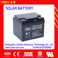 wind turbine battery 12v 40ah Recharged Batteries