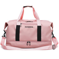 hot women pink gym bag 2019 big sports duffle bag