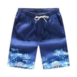 Men's Swim Trunks Quick Dry Board Short Summer Beachwear with Pocket