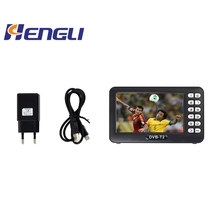 4,3/7/9/10 Zoll Mini HD <span class=keywords><strong>DVB-T</strong></span>/T2 Tragbare Tasche Handheld Digital TV Freies Live streaming-TV-Player