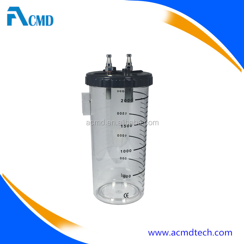 Cheap Reusable Medical Suction Bottle For Medical Gas Pipeline System
